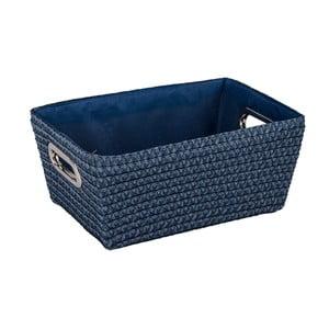 Modrý košík Wenko Chromo, šířka28cm