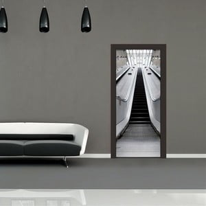 Tapeta na dveře Escalator, 95x210 cm