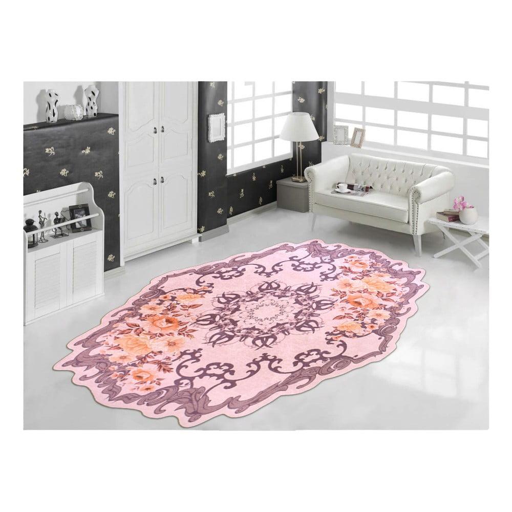 Odolný koberec Vitaus Zehno Kahve, 80 x 150 cm