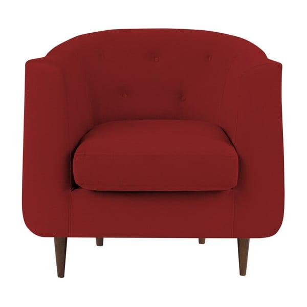Czerwony fotel Kooko Home Love