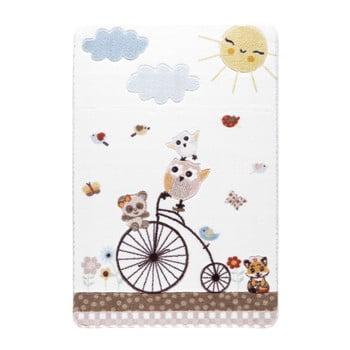 Covor pentru copii Confetti Sunny Day, 133 x 190 cm, alb de la Confetti