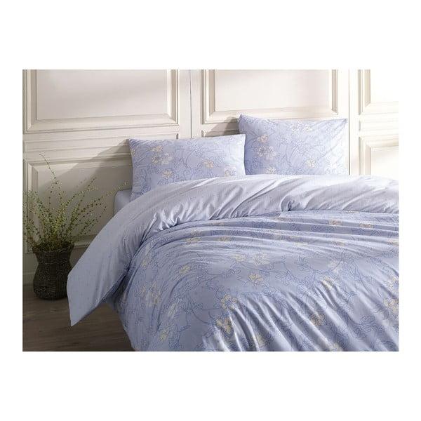 Lenjerie de pat cu cearșaf Helianthe, 200 x 220 cm