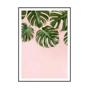Plakát Imagioo Monstera Leaves, 40x30cm