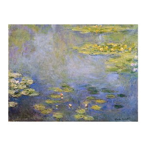 Tablou Claude Monet - Waterlilies, 80x60 cm