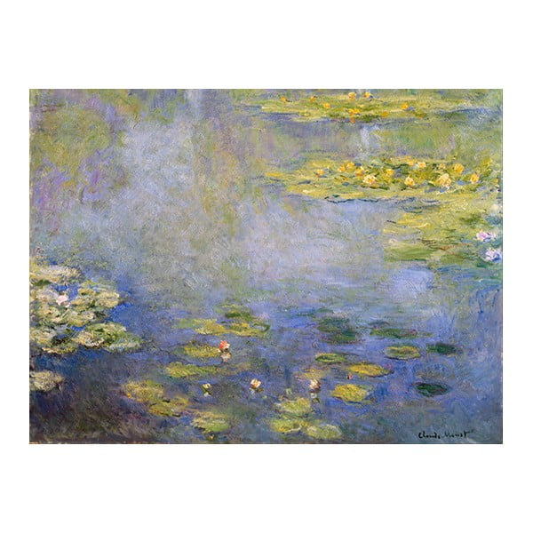 Obraz Claude Monet - Waterlilies, 40x30 cm