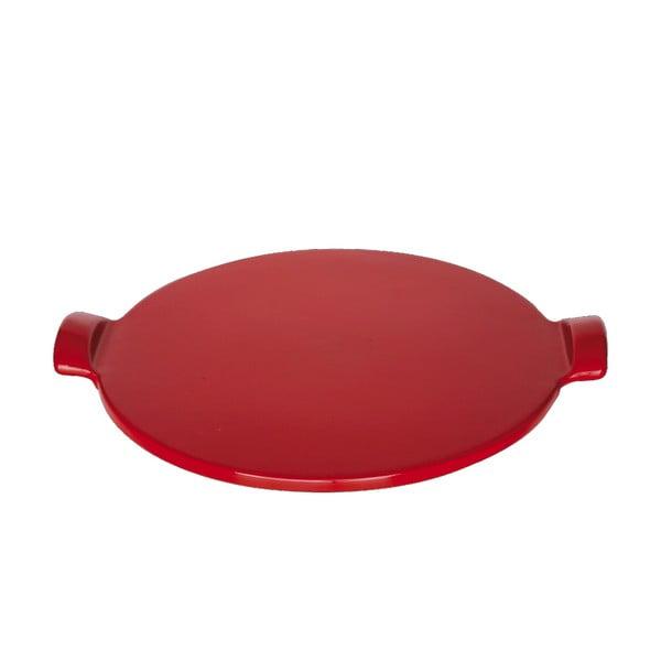 Tác na pizzu Emile Henry 30 cm, červený