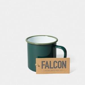 Tmavě zelený smaltovaný hrnek Falcon Enamelware,350ml