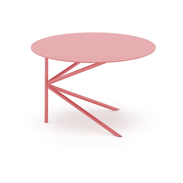 Stolek MEME Design Twin Basso Rosa Quarzo