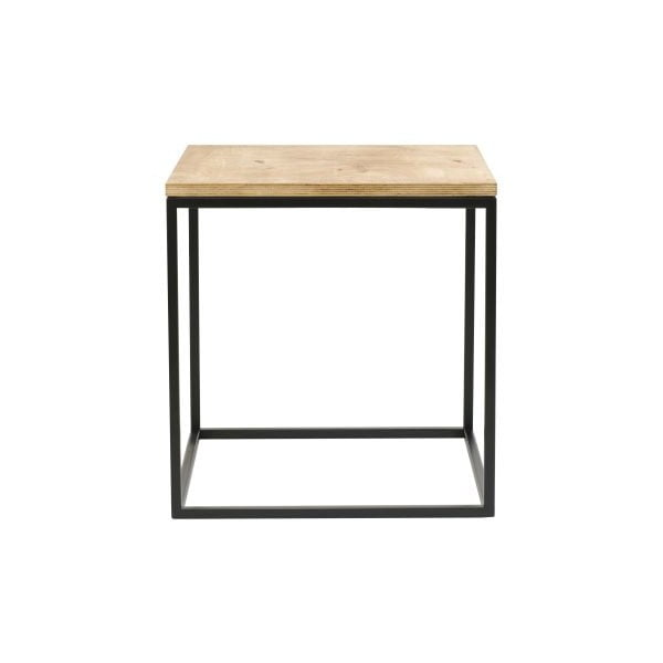 Odkládací stolek Side Black, 45x45x47 cm
