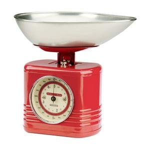 Červená kuchyňská váha Typhoon Vintage