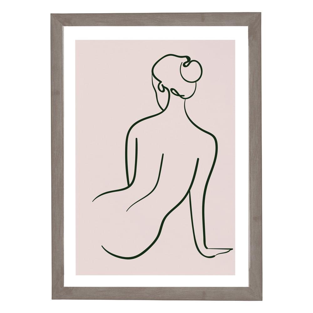 Nástěnný obraz v rámu Surdic Woman Studies, 30 x 40 cm
