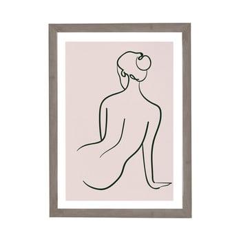 Tablou cu ramă pentru perete Surdic Woman Studies, 30 x 40 cm imagine