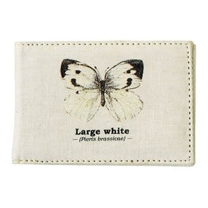 Obal na cestovní pas Gift Republic White Butterfly