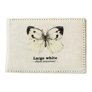 Husă pașaport Gift Republic White Butterfly