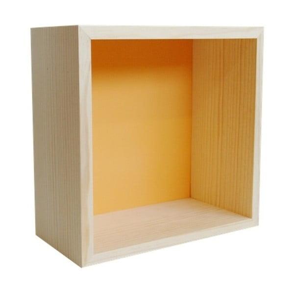 Dekorace Cubo Pattern Ocre L