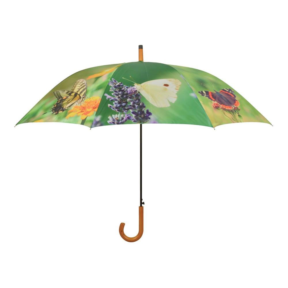 Deštník s potiskem motýlů Esschert Design, ⌀ 120 cm