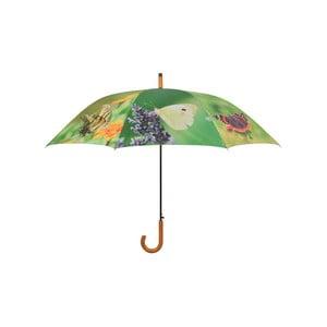 Deštník s potiskem motýlů Ego Dekor, ⌀ 120 cm