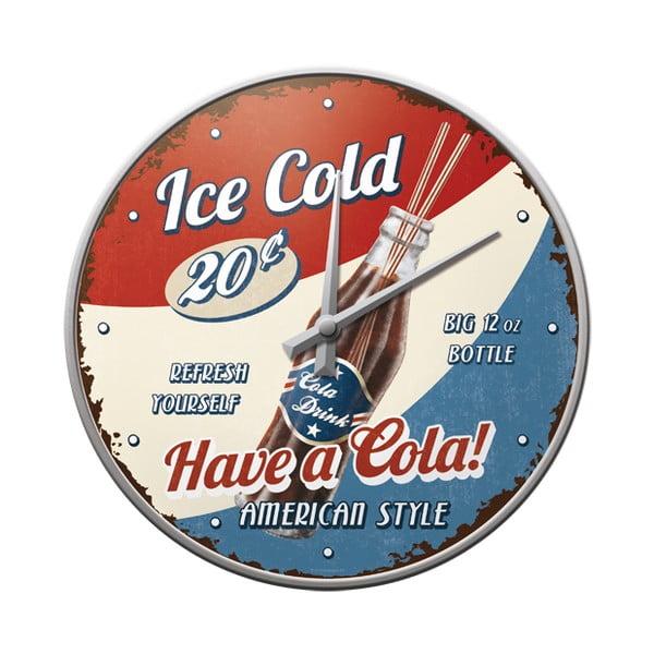 Hodiny Ice cold
