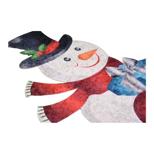 Covor Vitaus Snowman, 80 x 150 cm