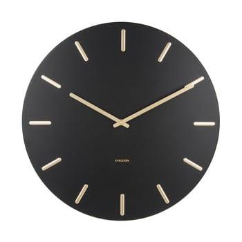 Ceas de perete Karlsson Charm, negru imagine