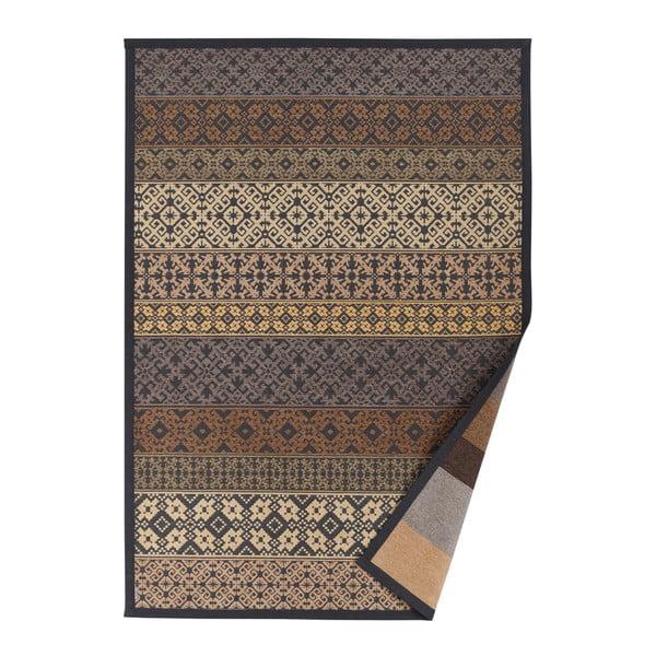 Béžový vzorovaný oboustranný koberec Narma Tidriku, 70 x 140cm