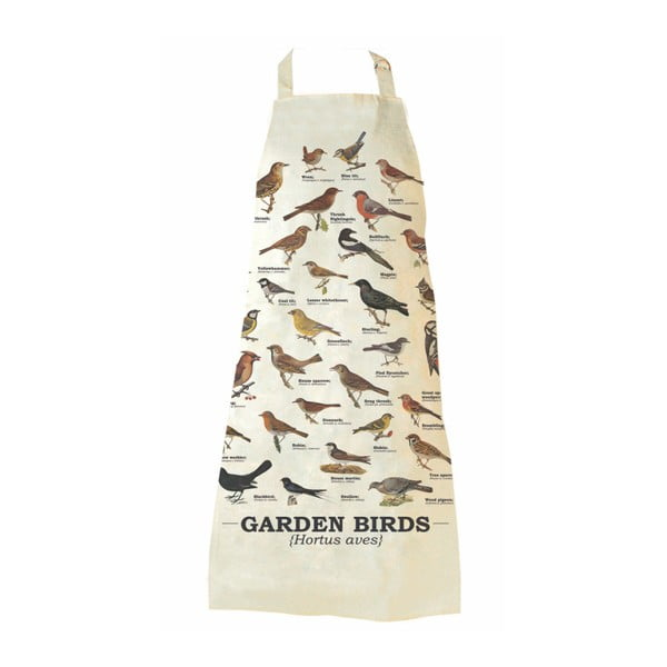 Garden Birds pamut kötény - Gift Republic