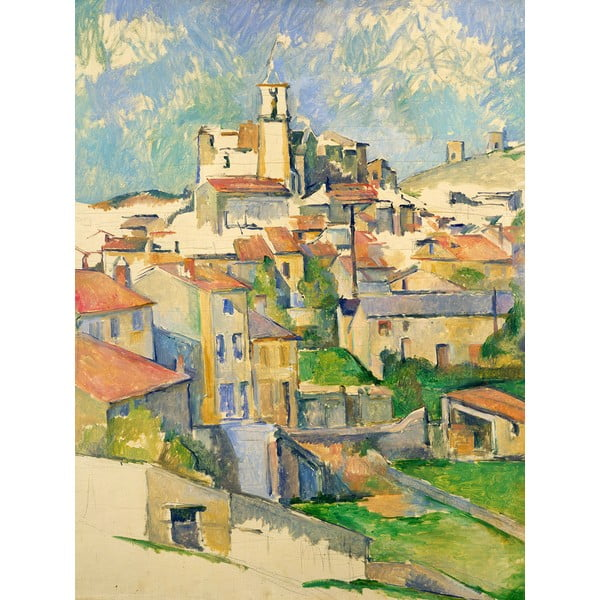 Reprodukcja obrazu Paul Cézanne - Gardanne, 60x80 cm