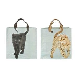 Sada 2 tašek Esschert Design Kočka