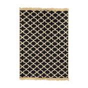 Tmavě modrý koberec Floorist Tan Dark Blue, 60x90cm
