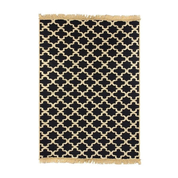 Granatowy dywan Ya Rugs Tee, 60x90 cm