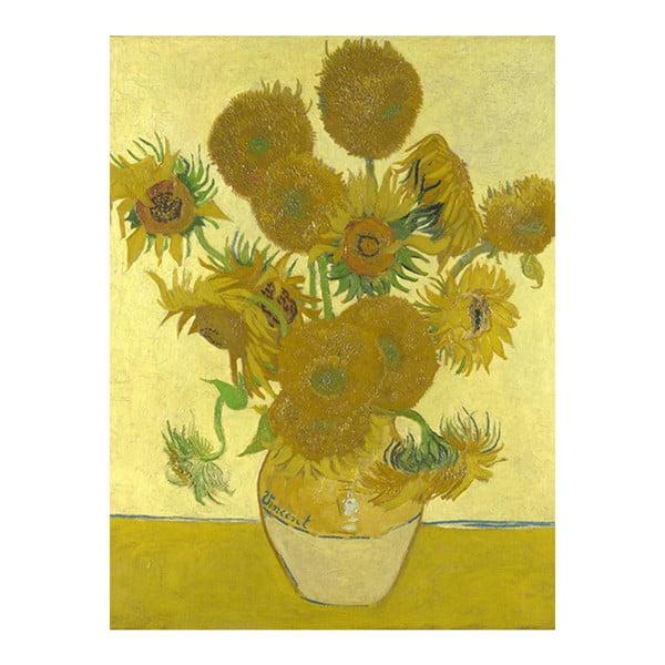 Obraz Vincenta van Gogha - Sunflowers 3, 60x45 cm