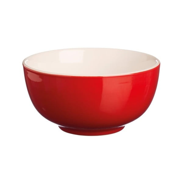 Kameninová miska Price & Kensington Red Dinner, 14 cm