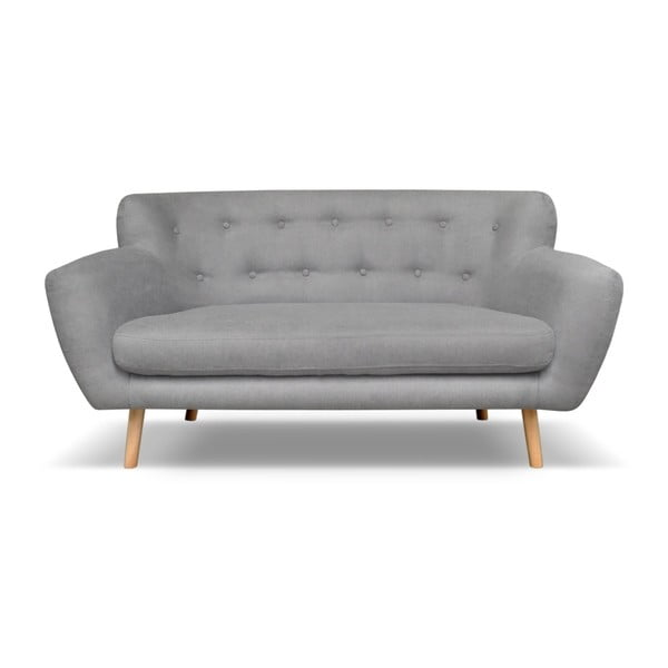 Jasnoszara sofa 2-osobowa Cosmopolitan design London