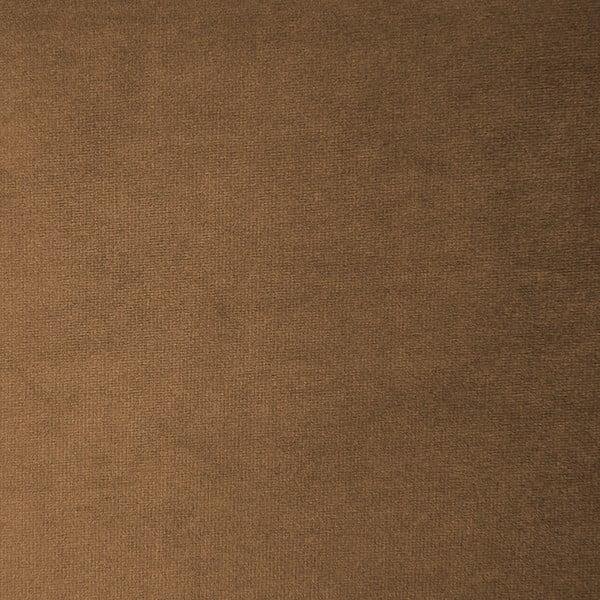Hnědý levý rohový modul pohovky Vivonita Velvet Cube