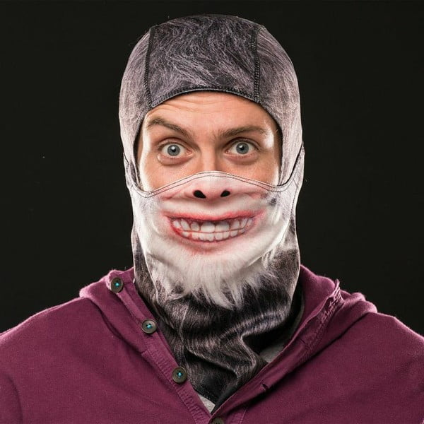 Lyžařská maska na celou hlavu Yeti