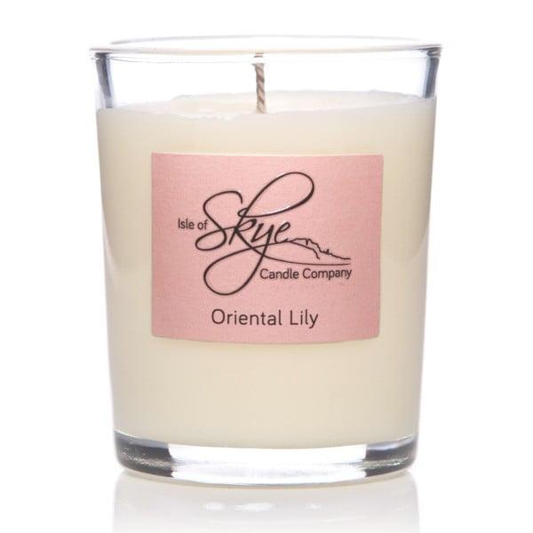Container illatgyertya rózsa, bergamott és mandarin illattal, 12 óra égési idő - Skye Candles