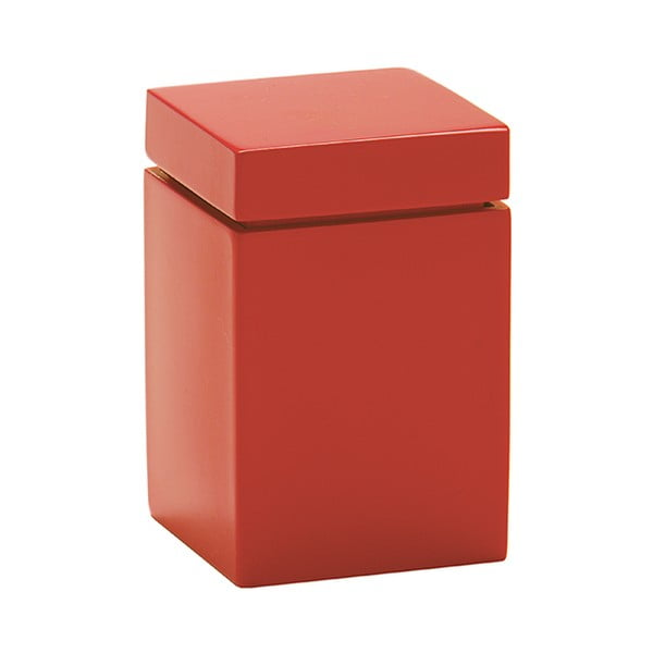 Kosmetická dóza Taco, červená