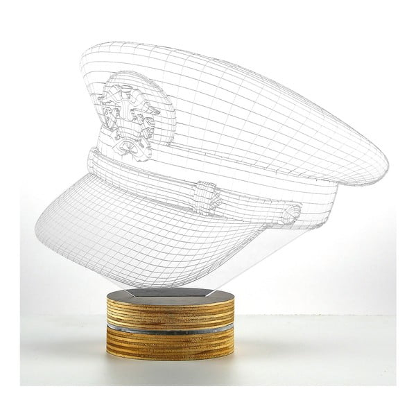 3D stolní lampa Captain