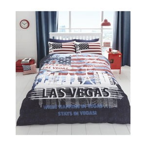 Lenjerie de pat Catherine Lansfield Las Vegas, 220 x 230 cm