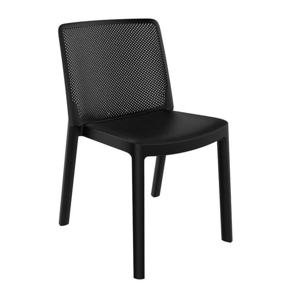 Sada 4 černých zahradních židlí Resol Fresh Garden