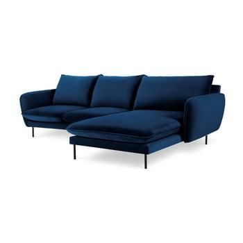 Colțar cu șezlong pe partea dreaptă Cosmopolitan Design Vienna, albastru imagine