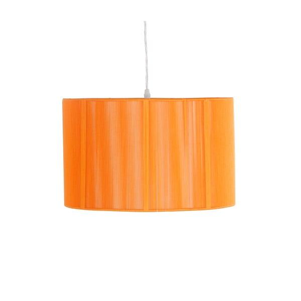 Závěsné světlo Bertrand, oranžové