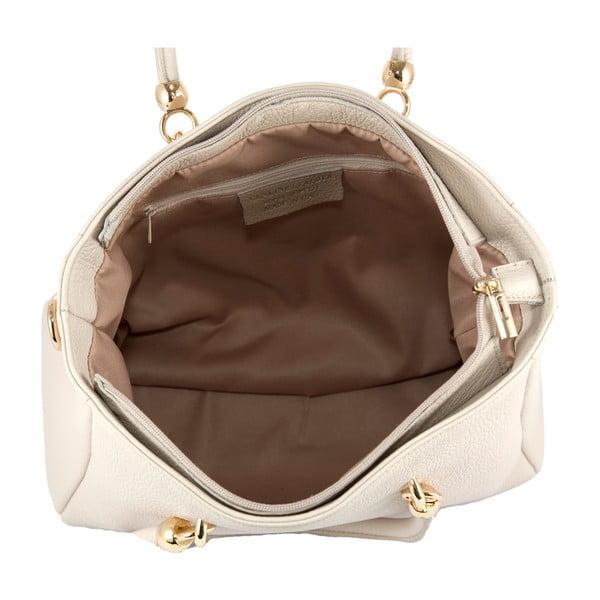 Kožená kabelka Andrea Cardone 2010 Beige