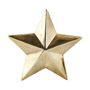 Stea decorativă KJ Collection Ceramic Gold, 3,5 cm