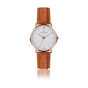 Unisex hodinky se světle hnědým páskem z pravé kůže Frederic Graff Croco