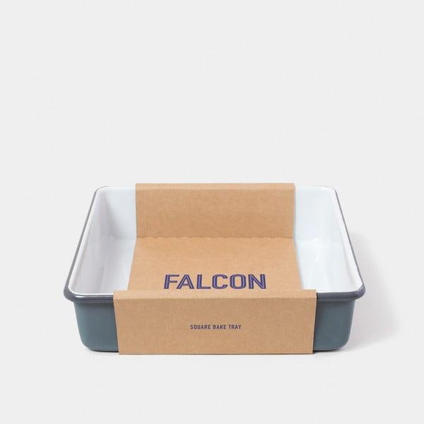 Šedá smaltovaná zapékací mísa Falcon Enamelware