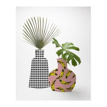 Set 2 vaze textile pentru flori Really Nice Things Bahamas de la Really Nice Things