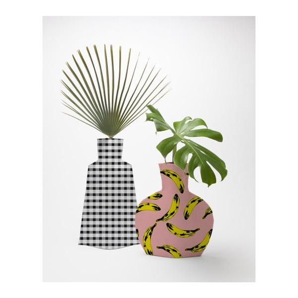 Sada 2 textilních váz na květiny Really Nice Things Bahamas