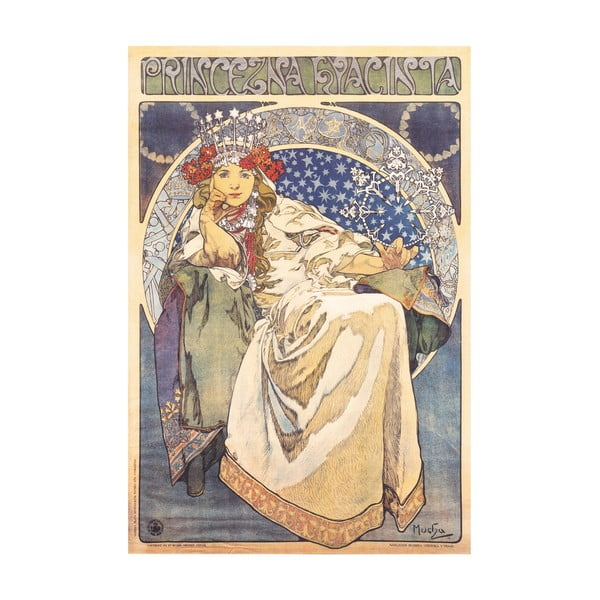Obraz Princezna Hyacinta od Muchy