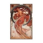 Obraz Dance od Alfonse Muchy, 26x40 cm